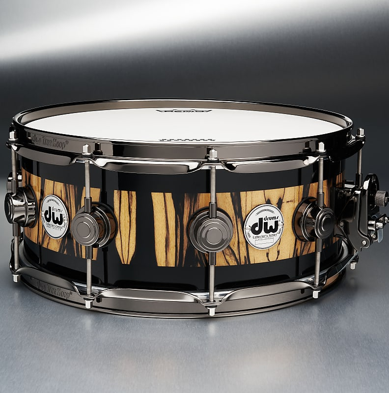 Limited Edition DW Collector's Series Project Timeline Snare