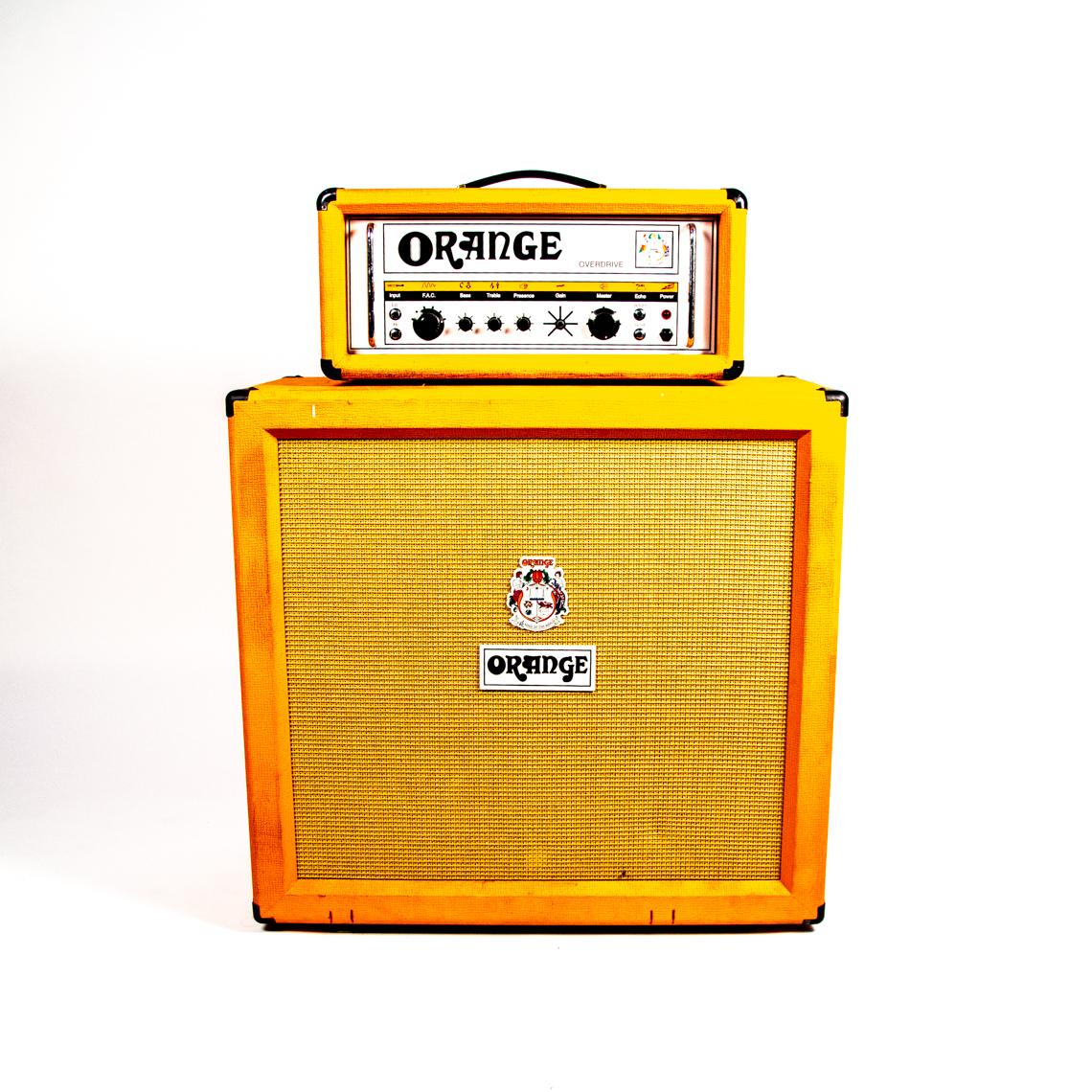 Orange half-stack