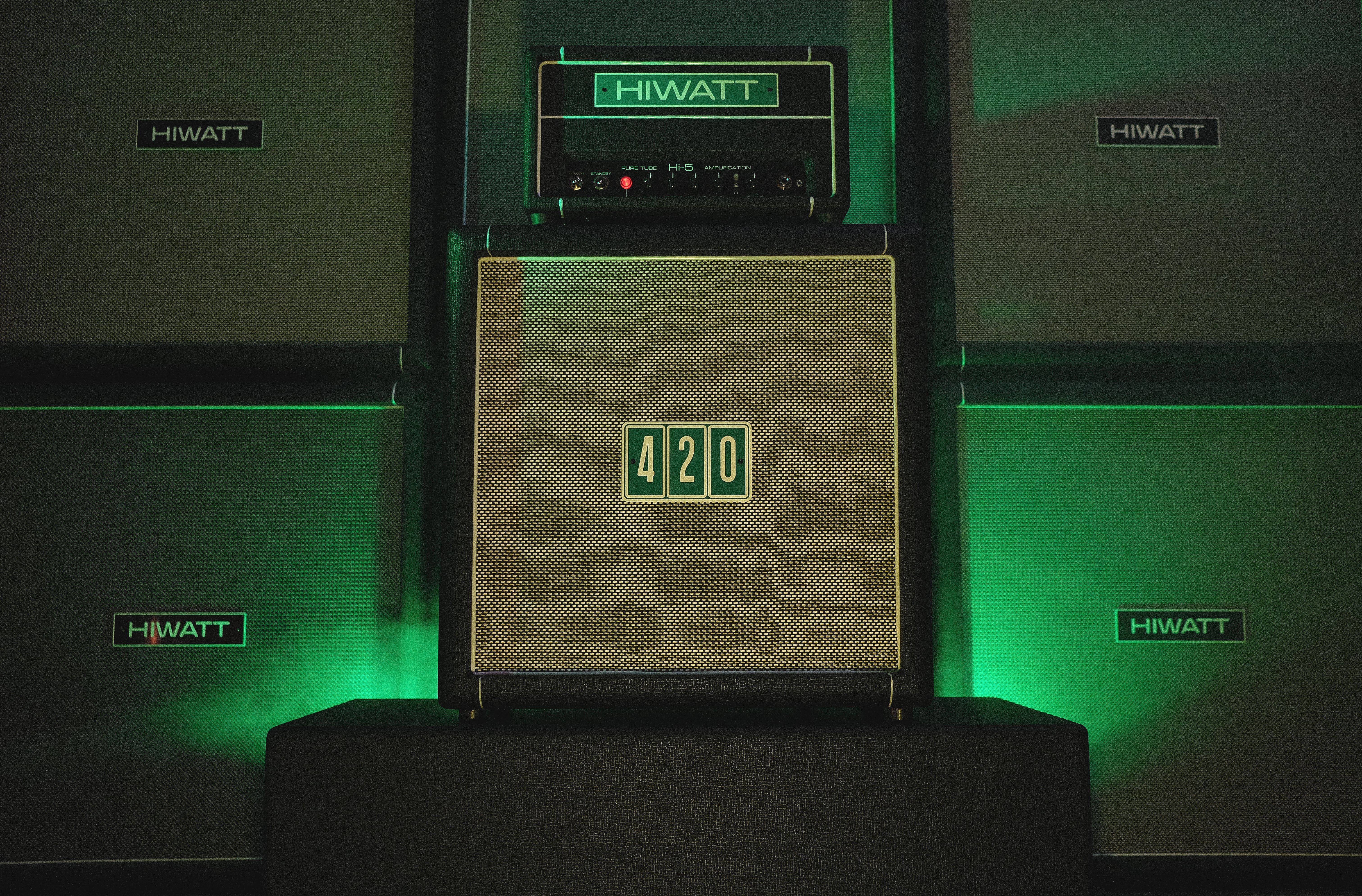 The Hi-5 Head and HG112 420 cabinet.