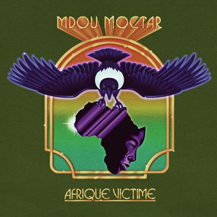 Mdou Moctar's Afrique Victime album cover