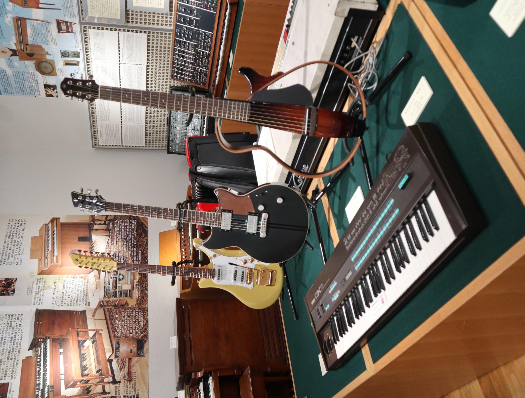 Yamaha Guitars and DX7