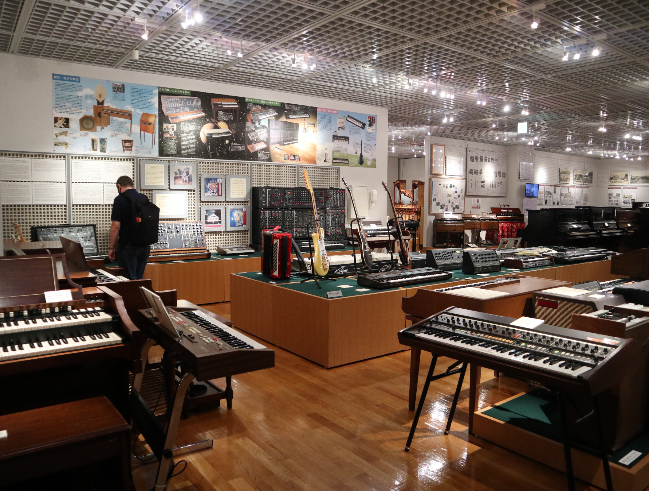 Collection of electronic instruments