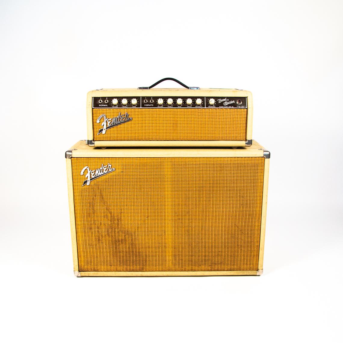 1960s Fender Bandmaster Head and Cab