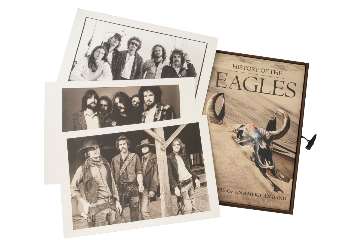Prints of the band included in the boxset.