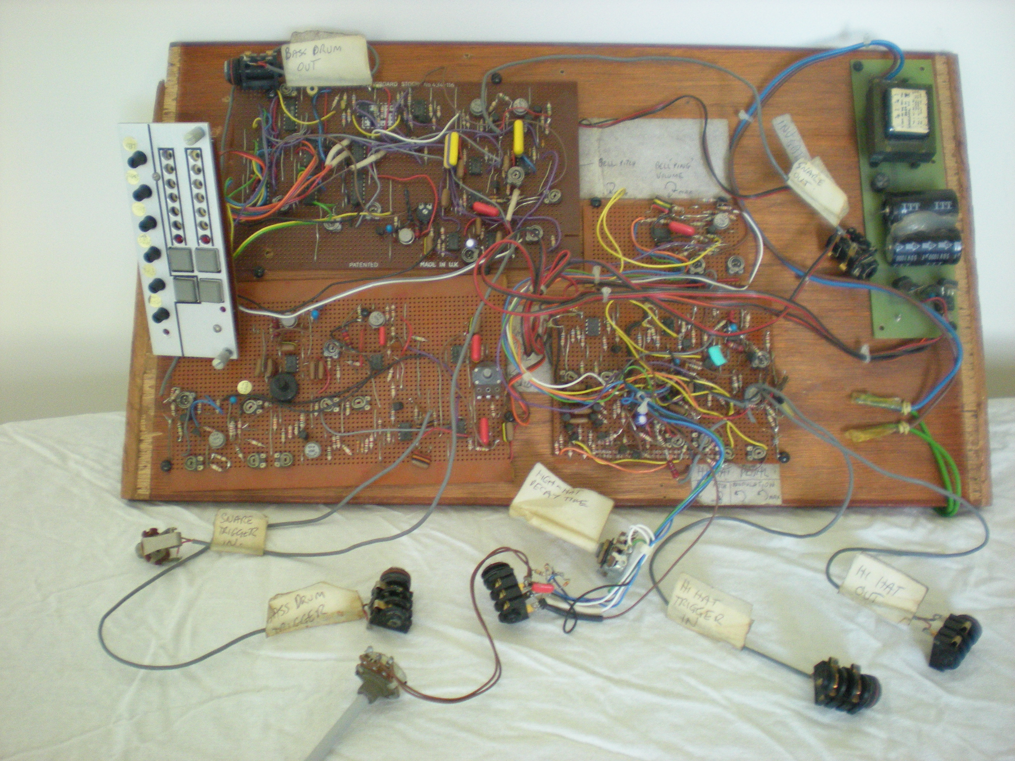 The SDSV prototype circuit board. Photo courtesy Burgess.