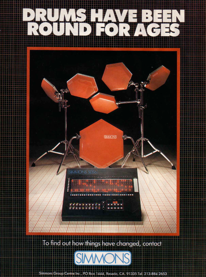 Simmons SDS6 ad