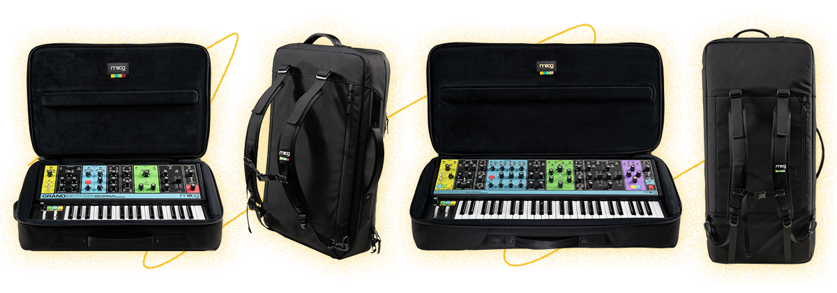Moog Grandmother and Matriarch SR Cases