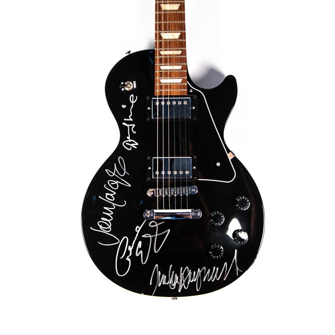Gibson LP Studio autographed by The Moody Blues