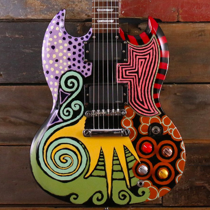 2007 Epiphone SG G400 w/ Hand Painted Art