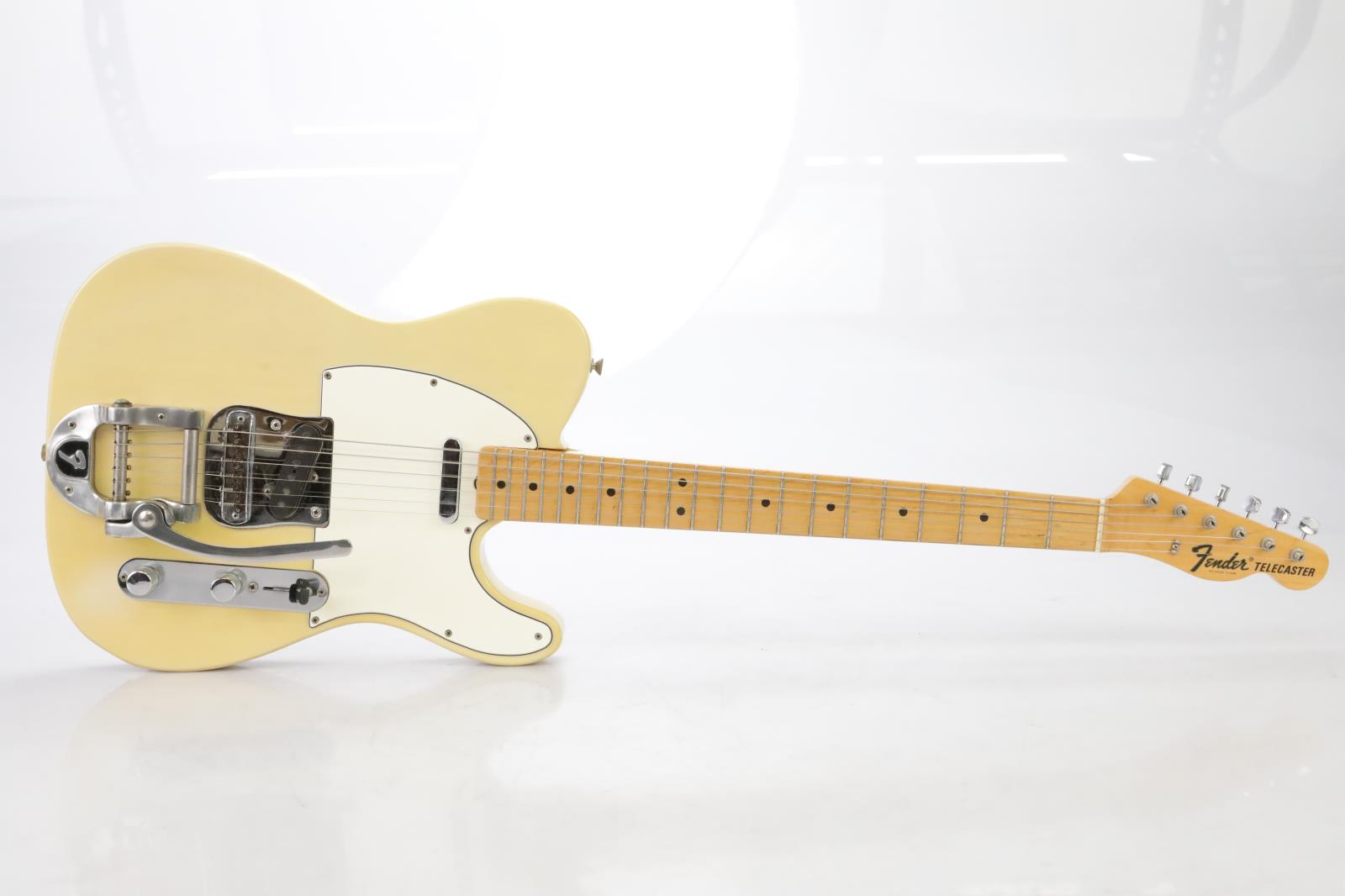 Bigsby-equipped Fender Telecaster