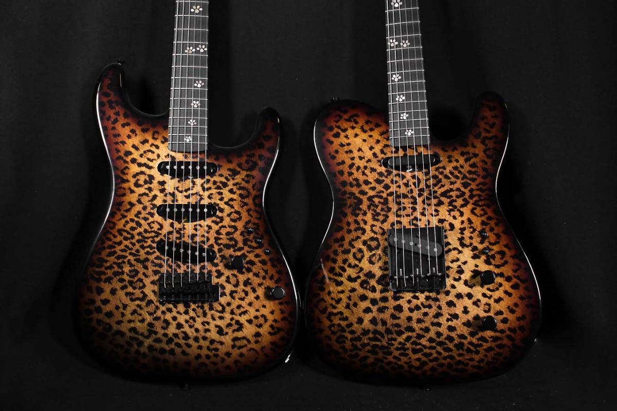 Fender Custom Shop Leopard Strat+Tele