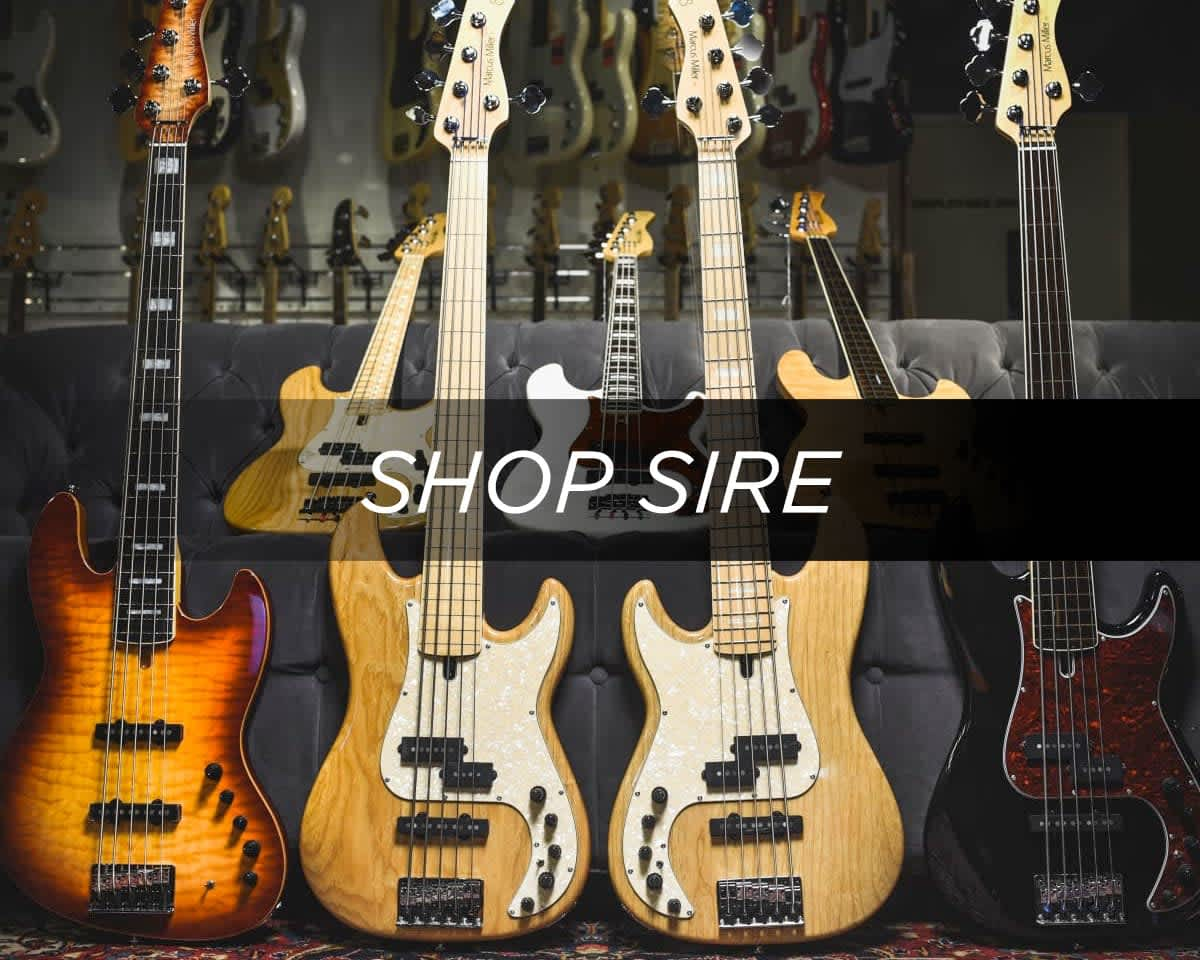 Bass Guitars at Chicago Music Exchange