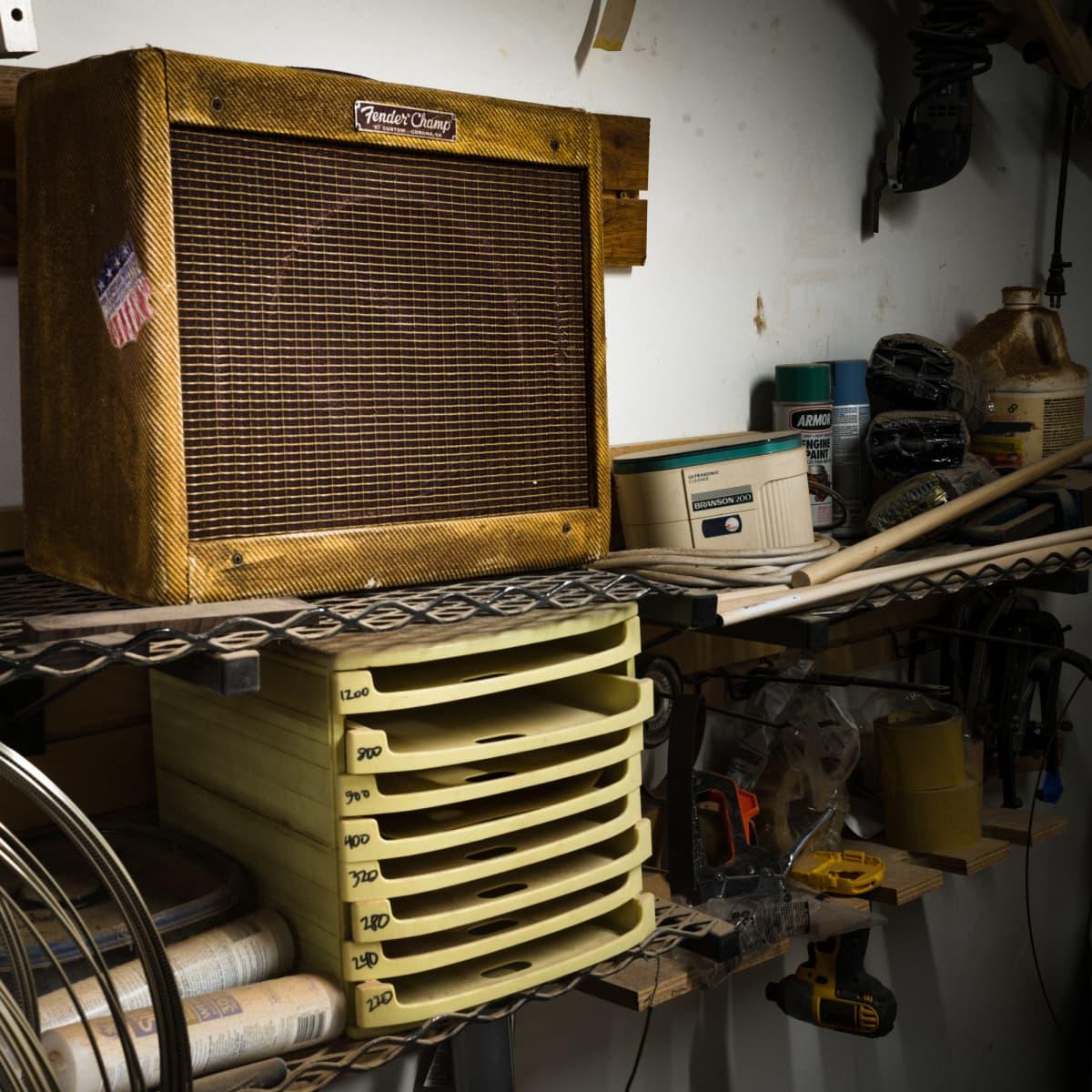 Fender Custom Shop Master Built 1957 Champ Only At Chicago