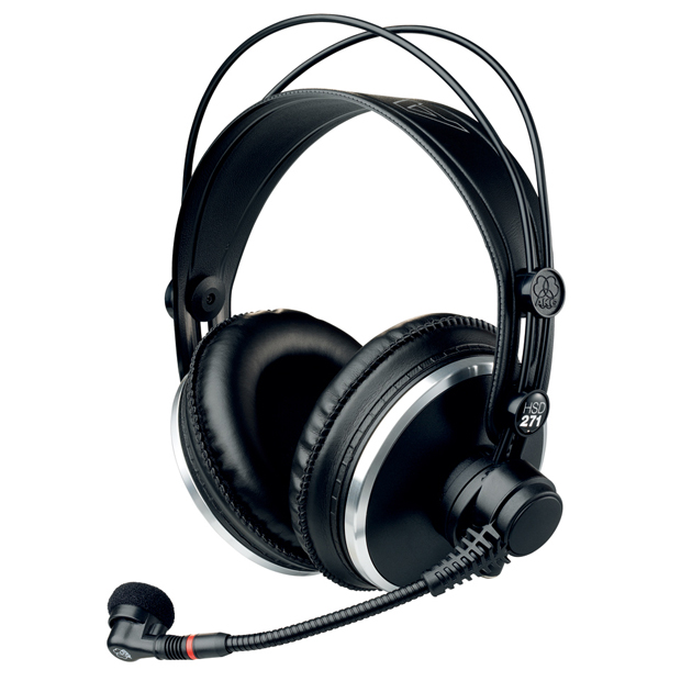 AKG HSD271 Professional Headsets with Dynamic Microphone (no cable, order separately)