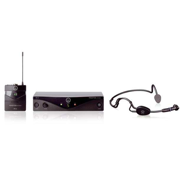 AKG Perception Wireless 45 Sports Set BandU2 | High-Performance Wireless Mic System
