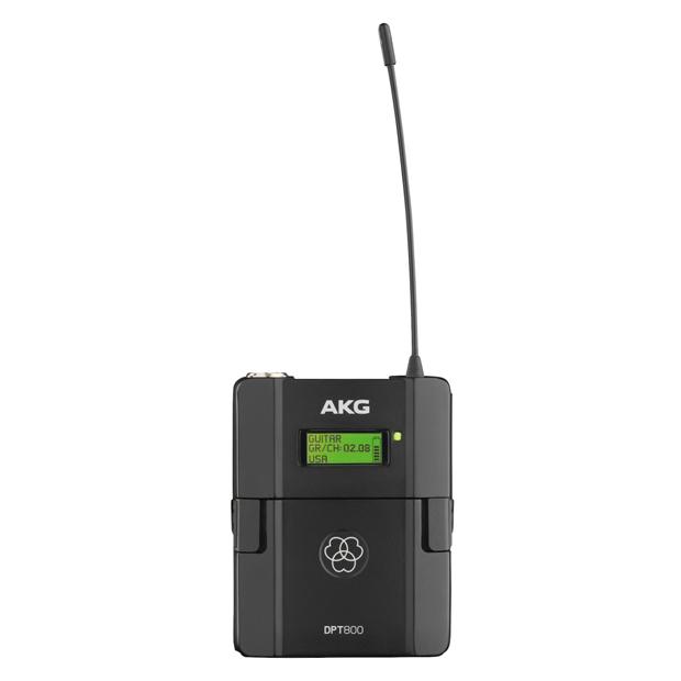 AKG DPT800 Band1 50mW Reference Digital Wireless Body Pack Transmitter