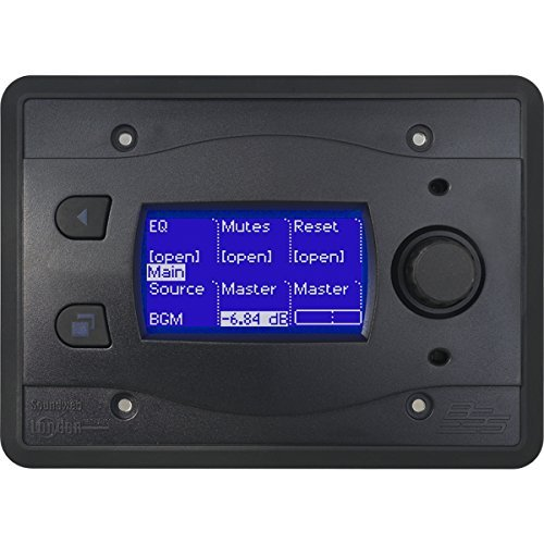BSS BLU-10-BLK | Touch Screen Programmable Remote Wall Controller Black