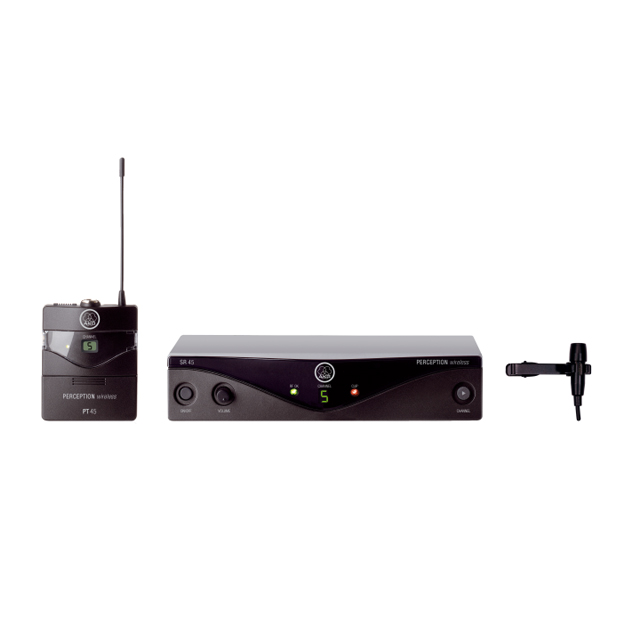 AKG Perception Wireless 45 Presenter Set BandA | High-Performance Wireless Mic System