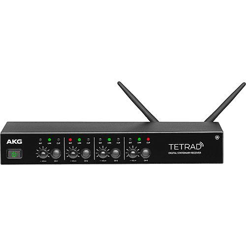 AKG DSRTETRAD Professional Digital Wireless Multichannel Receiver (Non EU)