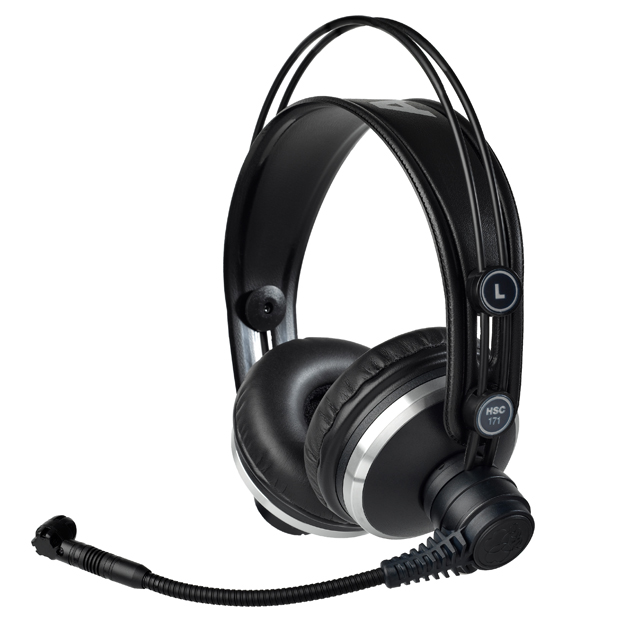 AKG HSC171 Professional Headsets with Condenser Microphone (no cable, order separately)