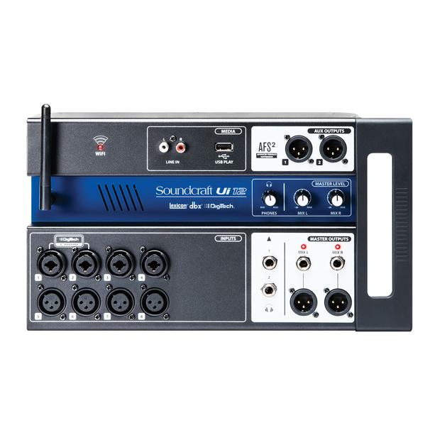 Soundcraft Ui12 | 12-input Remote-Controlled Digital Mixer