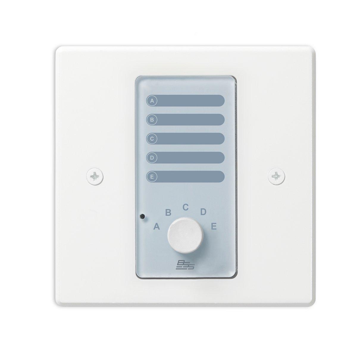 BSS Audio Analog Controller w/ 5 Sources (White - EU)