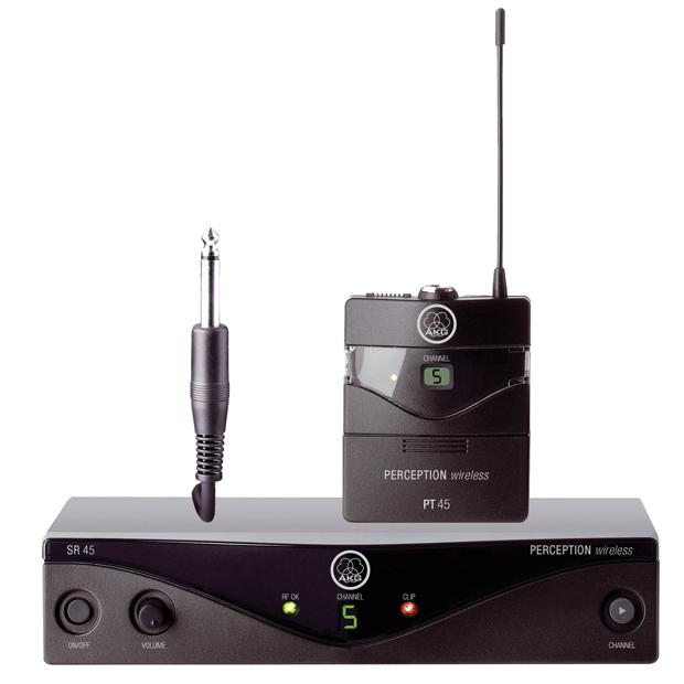 AKG Perception Wireless 45 Instrumental Set | High-Performance Wireless Mic System BandU2