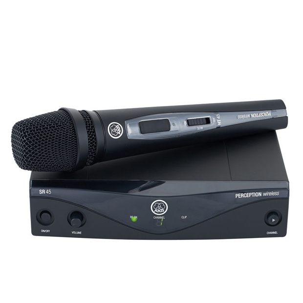 AKG Perception Wireless 45 Vocal Set BandU2 | High-Performance Wireless Mic System