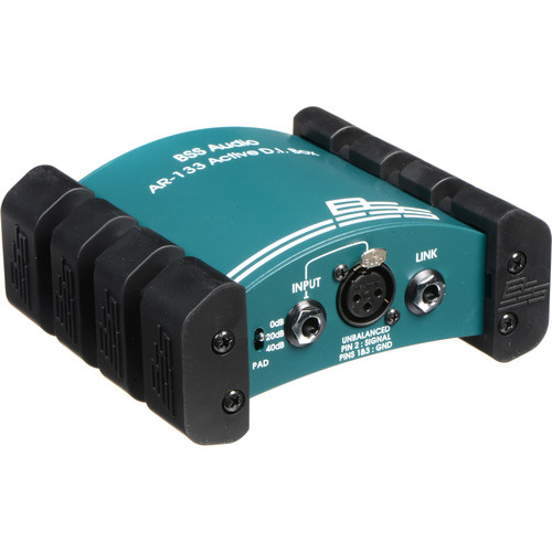 BSS Audio AR-133 - Active Direct Box/Line Balancer