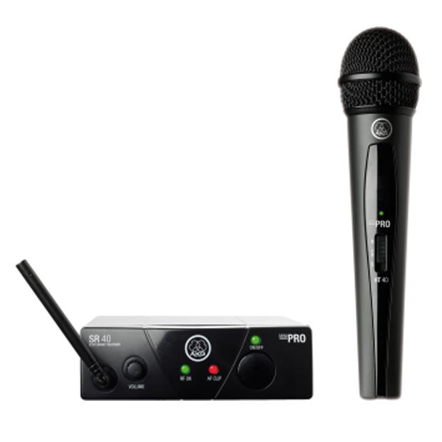 AKG WMS40 Mini Single Vocal Set | Wireless Microphone System (Band US45C)