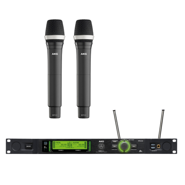 AKG DMS800 D5 Vocal Set BD1 Reference Digital Wireless Microphone System
