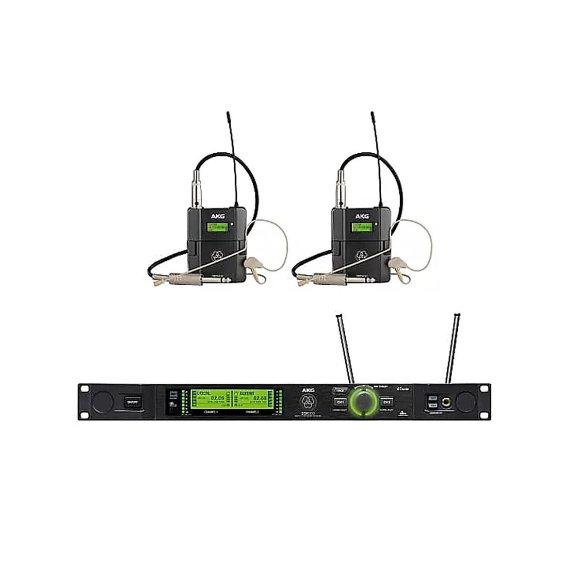 AKG DMS800 BD1 Performer Set Reference Digital Wireless Microphone System