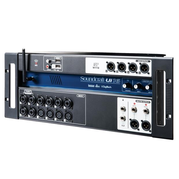 Soundcraft Ui16 | 16-input Remote-Controlled Digital Mixer