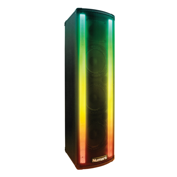 Numark Lightwave DJ Loudspeaker with Built-in Beat Sync'd Light Show