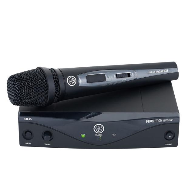 AKG Perception Wireless 45 Vocal Set BandA | High-Performance Wireless Mic System