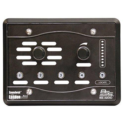 BSS BLU-8-V2-BLK | HiQnet Programmable Zone Controller Black