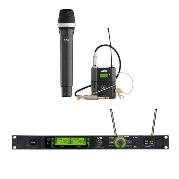 AKG DMS800 BD1 Mix Set Reference Digital Wireless Microphone System