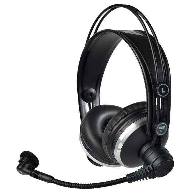 AKG HSD171 Professional Headsets with Dynamic Microphone (no cable, order separately)