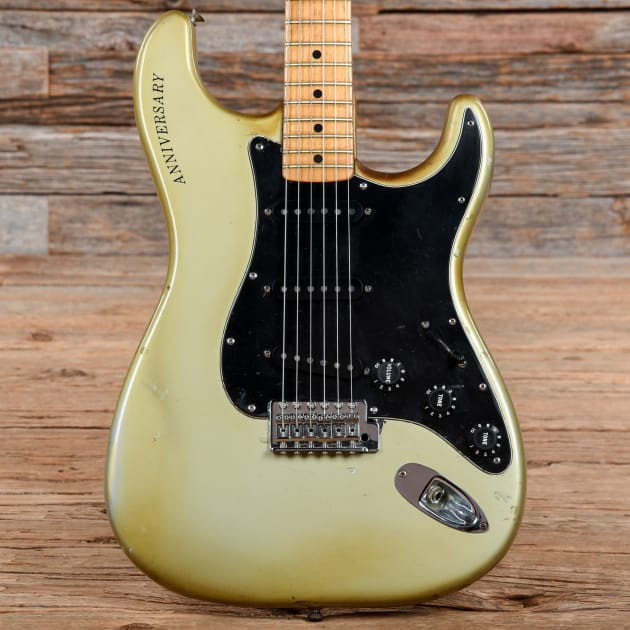 fender 25th anniversary stratocaster porsche silver 1979 s653. Black Bedroom Furniture Sets. Home Design Ideas