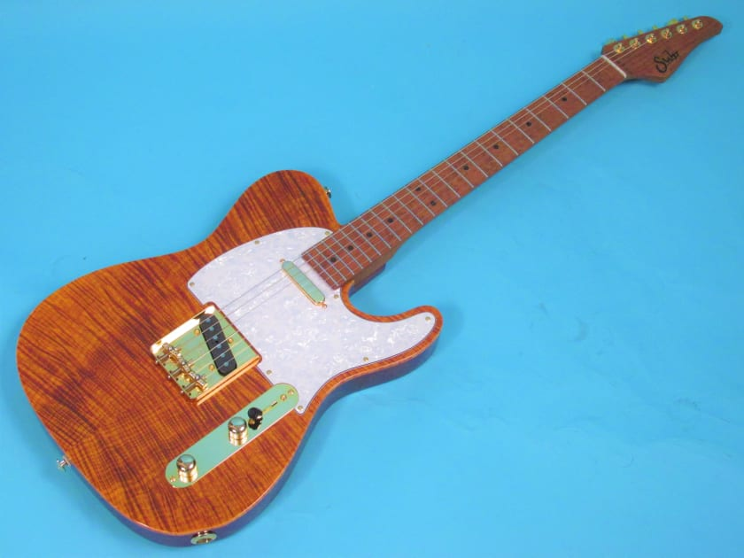 Suhr Classic T Deluxe Tiger S Eye