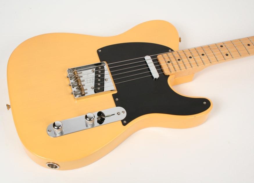 fender american vintage 39 52 reissue telecaster butterscotch blonde. Black Bedroom Furniture Sets. Home Design Ideas