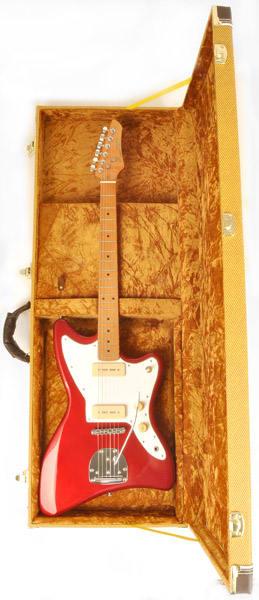Jazzmaster //Jaguar  Style Crossrock CRF1000JM Fiberglass Electric Guitar Case