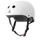 Triple 8 THE Certified Sweatsaver Helmet White Rubber