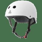 Triple 8 THE Certified Sweatsaver Helmet White Rubber