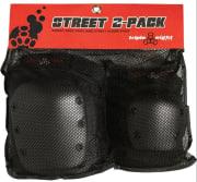 Triple 8 Street 2-Pack Black