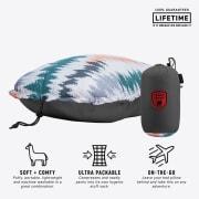 Grand Trunk Camp Pillow Slate Gray