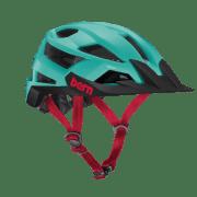 BERN FL-1 XC MIPS Matte Turquoise w/ Visor - Small Turquoise