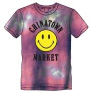 CTM Smiley Logo Tie Dye T-shirt Purple