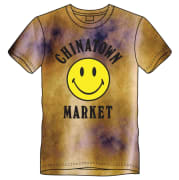 CTM Smiley Logo Tie Dye T-shirt Yellow