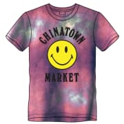 CTM Smiley Logo Tie Dye T-shirt Purple